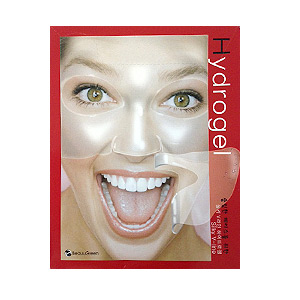 Маска с протеинами шёлка Beauu Green Silky V-Line Hydrogel Mask